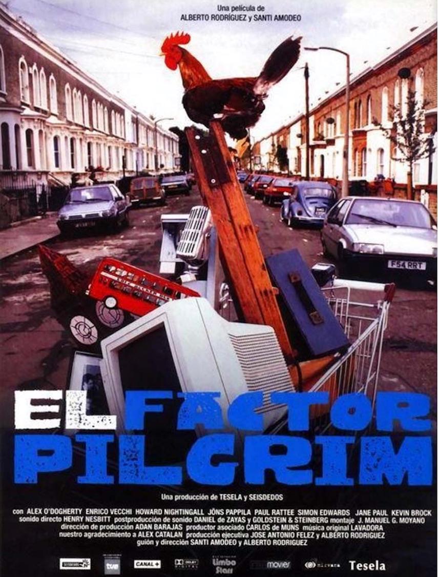 El factor Pilgrim, de Santi Amodeo y Alberto Rodríguez