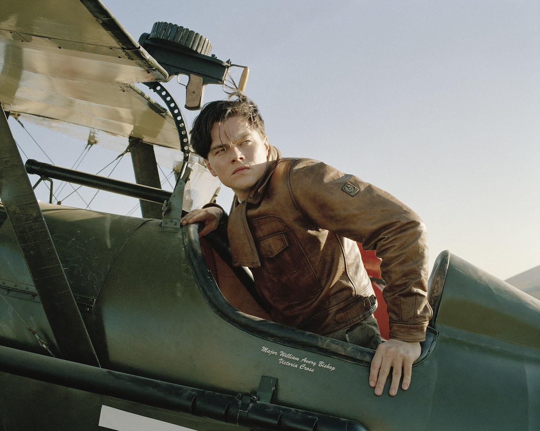 Leonardo Di Caprio en El aviador (Martin Scorsese, 2004)
