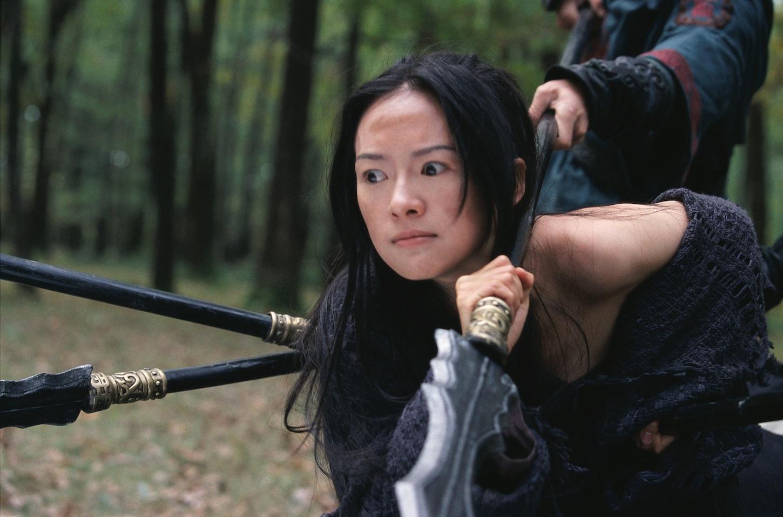 La casa de las dagas voladoras (Zhang Yimou, 2004)