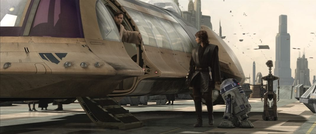 Stars Wars Episodio lll: La venganza de los Sith (George Lucas)