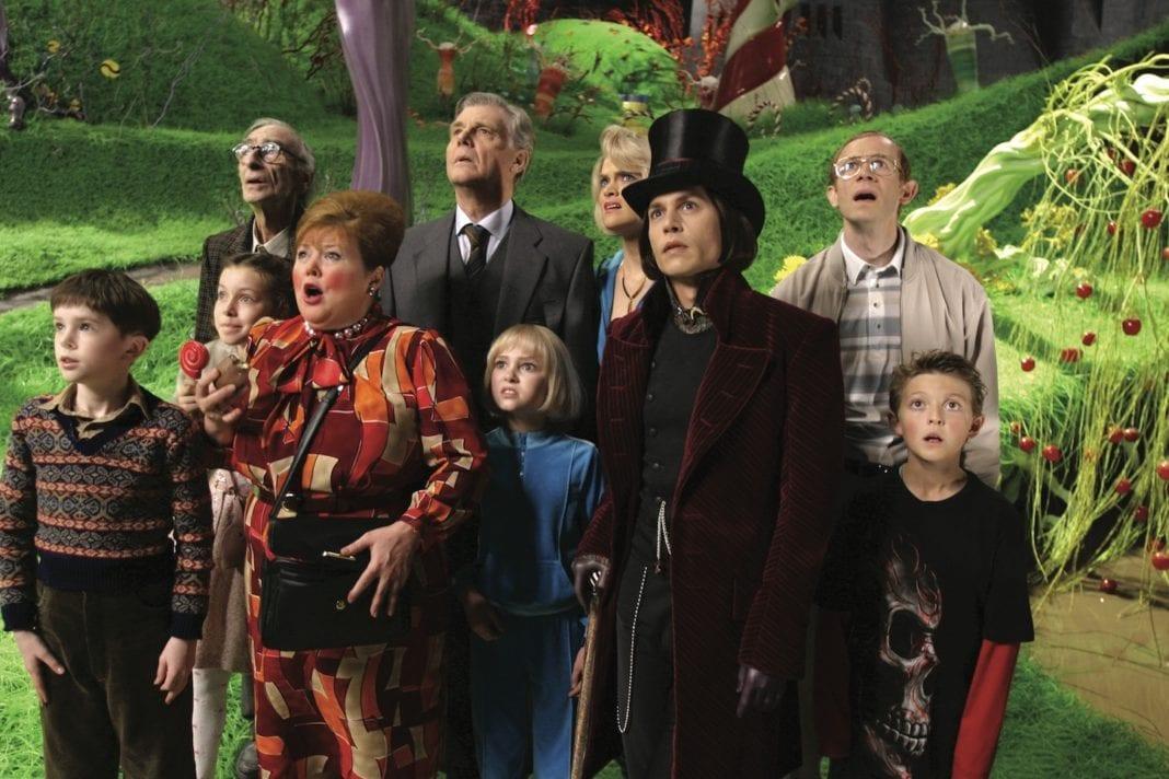 Charlie y la fábrica de chocolate (Tim Burton)