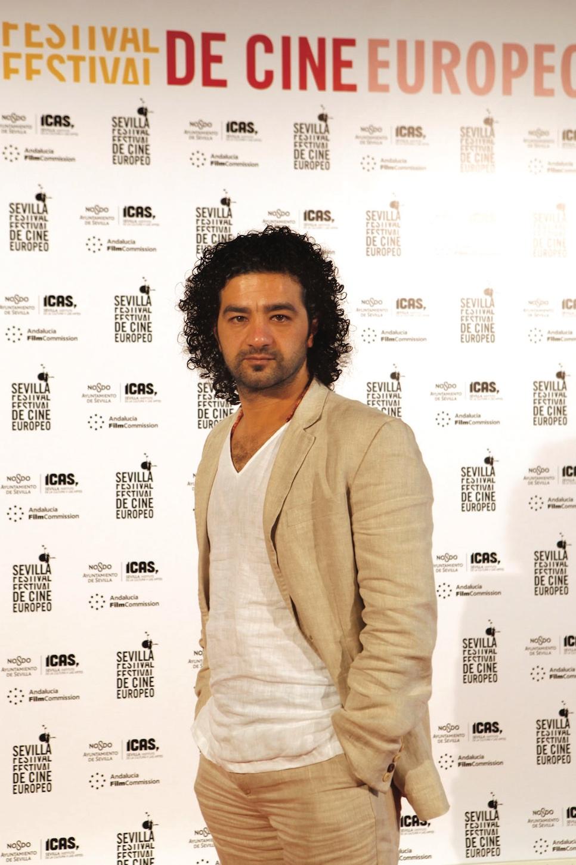 Mohamed Al-Daradji, director de Son of Babylon, Giraldillo de Oro a la Mejor Película en el Sevilla Festival de Cine Europeo 2010