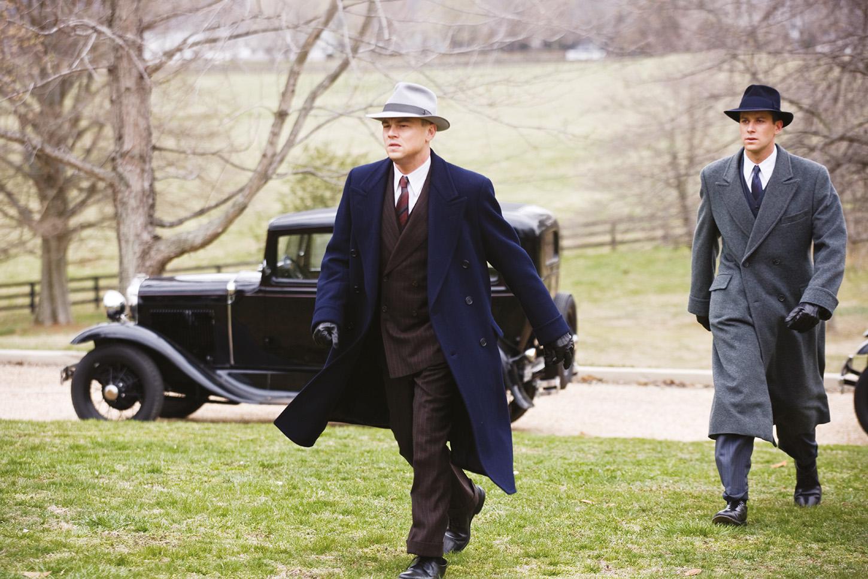 Leonardo DiCaprio en EJ. Edgar (2011), de Clint Eastwood