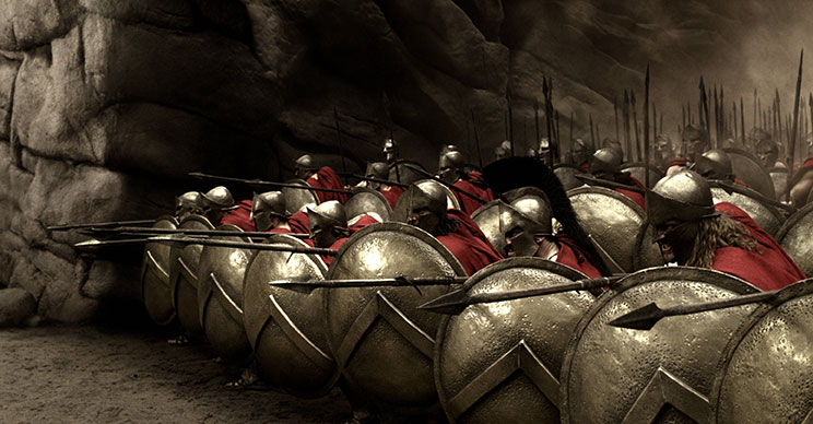 300, libertad y sacrificio en los guerreros espartanos