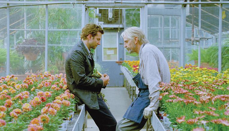 Bradley Cooper y Jeremy Irons en El ladrón de palabras