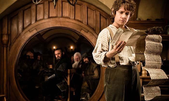 Frodo Bolson en El Hobbit