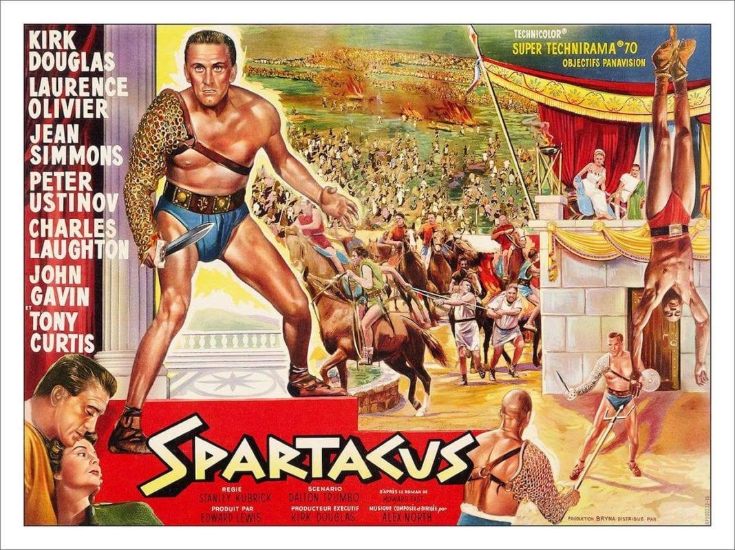 Espartaco (1960), de Stanley Kubrick