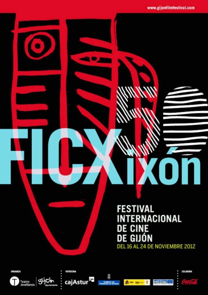 Cartel 50 Festival Internacional de Cine de Gijón