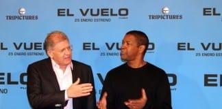 Robert Zemeckis y Denzel Washington presentan El vuelo