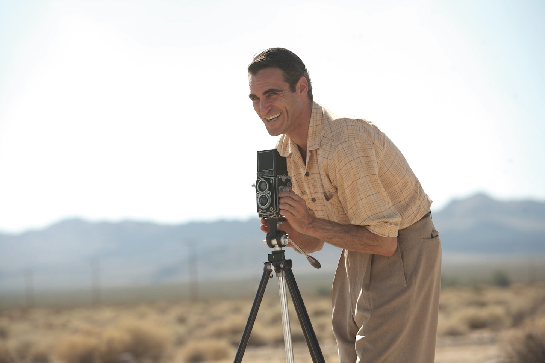 Joaquin Phoenix en The Master, (Paul Thomas Anderson, 2012)