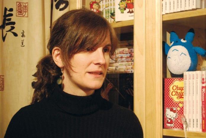 Laura Montero, autora de El mundo invisible de Hayao Miyazaki