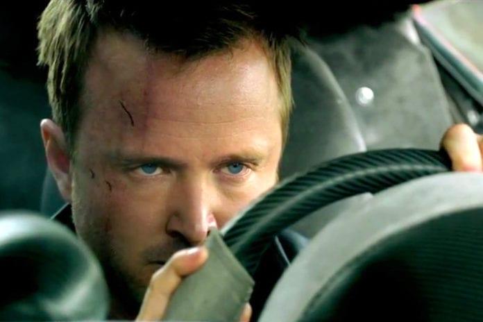 Aaron Paul, de Breaking Bad a Need for Speed