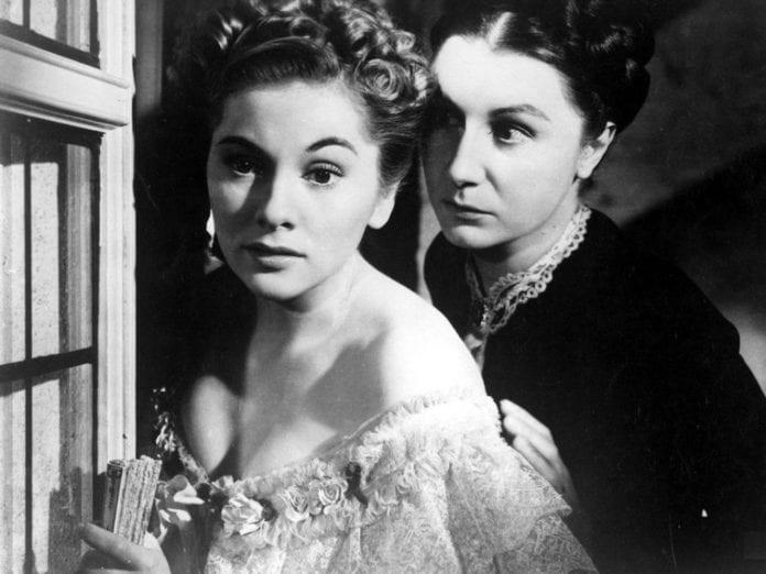 Joan Fontaine en Rebeca