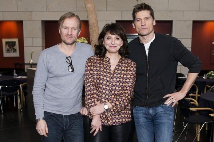 Ulrich Thomsen, Susanne Bier y Nikolaj Coster-Waldau
