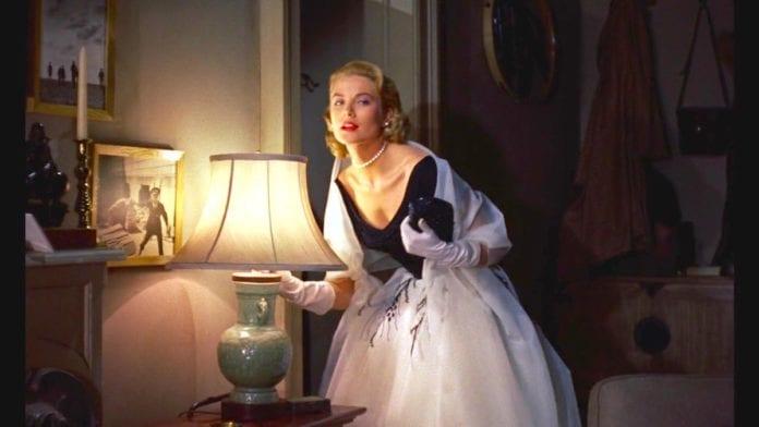 Grace Kelly en La ventana indiscreta, de Alfred Hitchcock