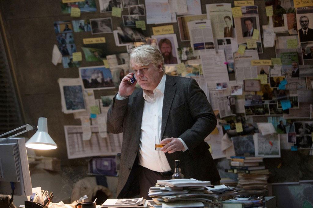 Philip Seymour Hoffman en El hombre más buscado (2013)