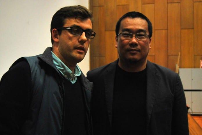 Con Bong Joon Ho en la Seminci