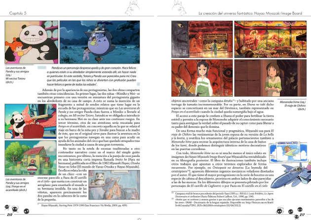 doble pág libro Miyazaki