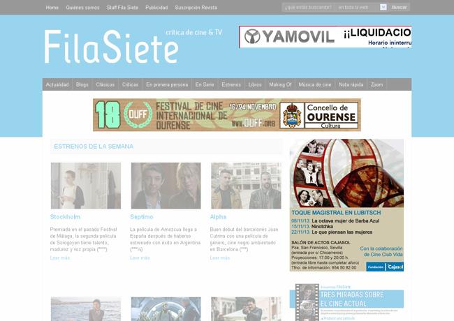 Publicidad FilaSiete