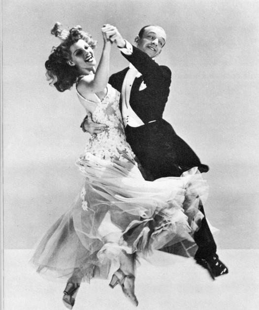 Fred Astaire y Rita Hayworth