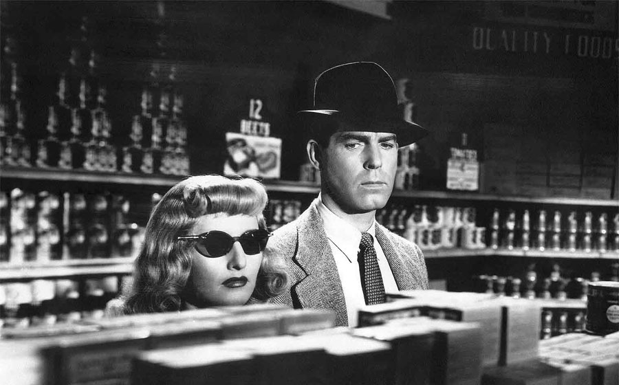 10 films en B & N DOUBLE-INDEMNITY