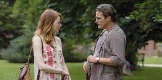 Emma Stone y Joaquin Phoenix en Irrational man (Woody Allen, 2015)