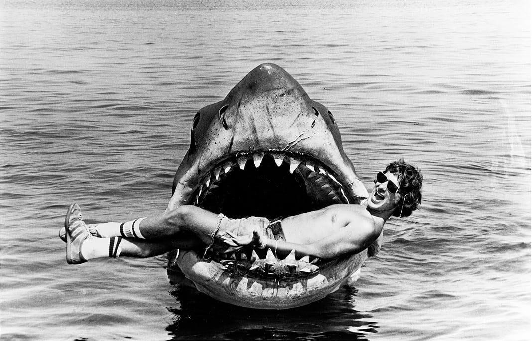 Spielberg en su Tiburón