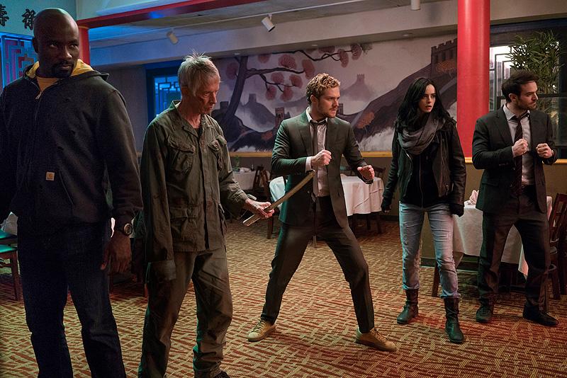 Marvel. The Defenders