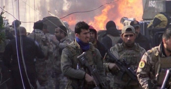 Movistar+ estrena Tres banderas, Mosul
