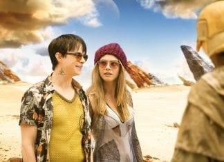 VALERIAN Y LA CIUDAD DE LOS MIL PLANETAS. Valerian (Dane DeHaan) y Laureline (Cara Delevingne). © 2016 VALERIAN SAS Ð TF1 FILMS PRODUCTION