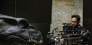 Bayona en el rodaje de Jurassic World: El reino caído