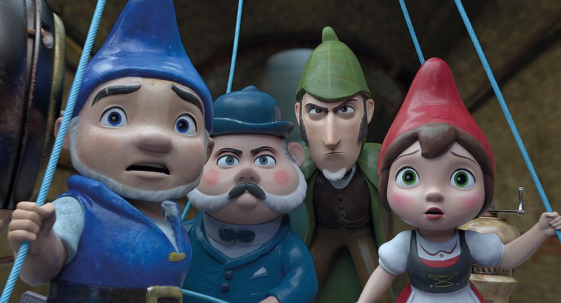 Sherlock Gnomes Fila Siete
