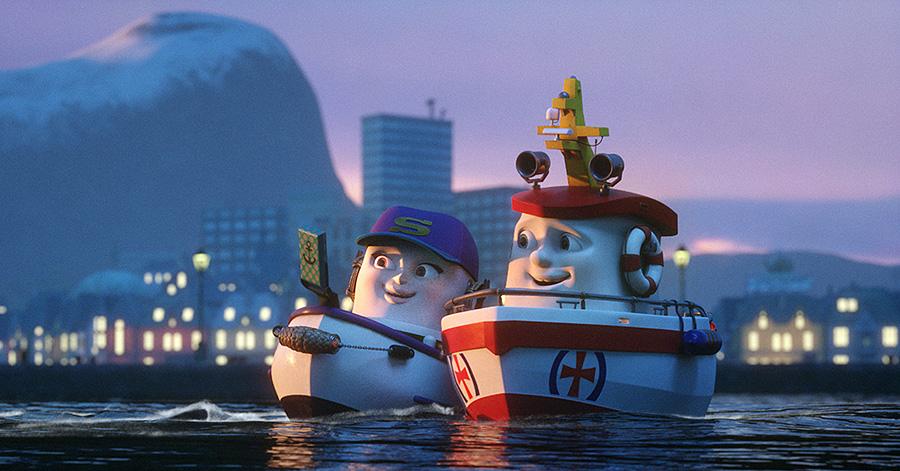 Barcos. ¡Al rescate!