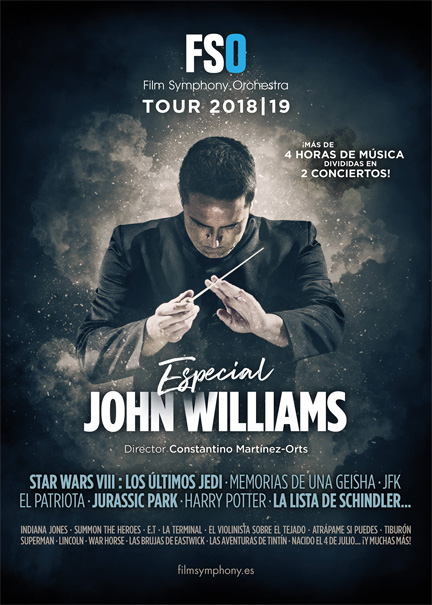 John Williams y la Film Symphony Orchestra