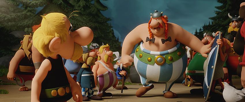 Louis Clichy, director y animador de Astérix: El secreto de la poción mágica