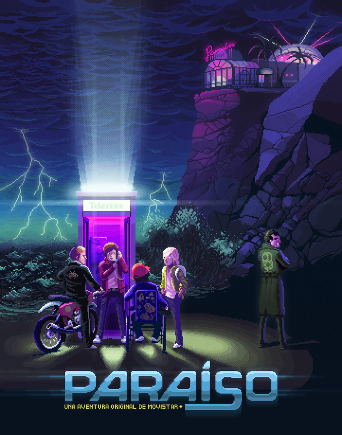 Paraíso, serie de Fernando González Molina para Movistar+