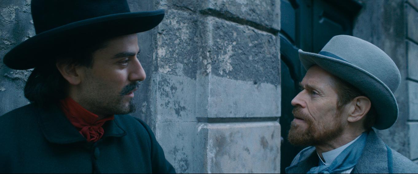 Willem Dafoe y Oscar Isaac en Van Gogh, a las puertas de la eternidad