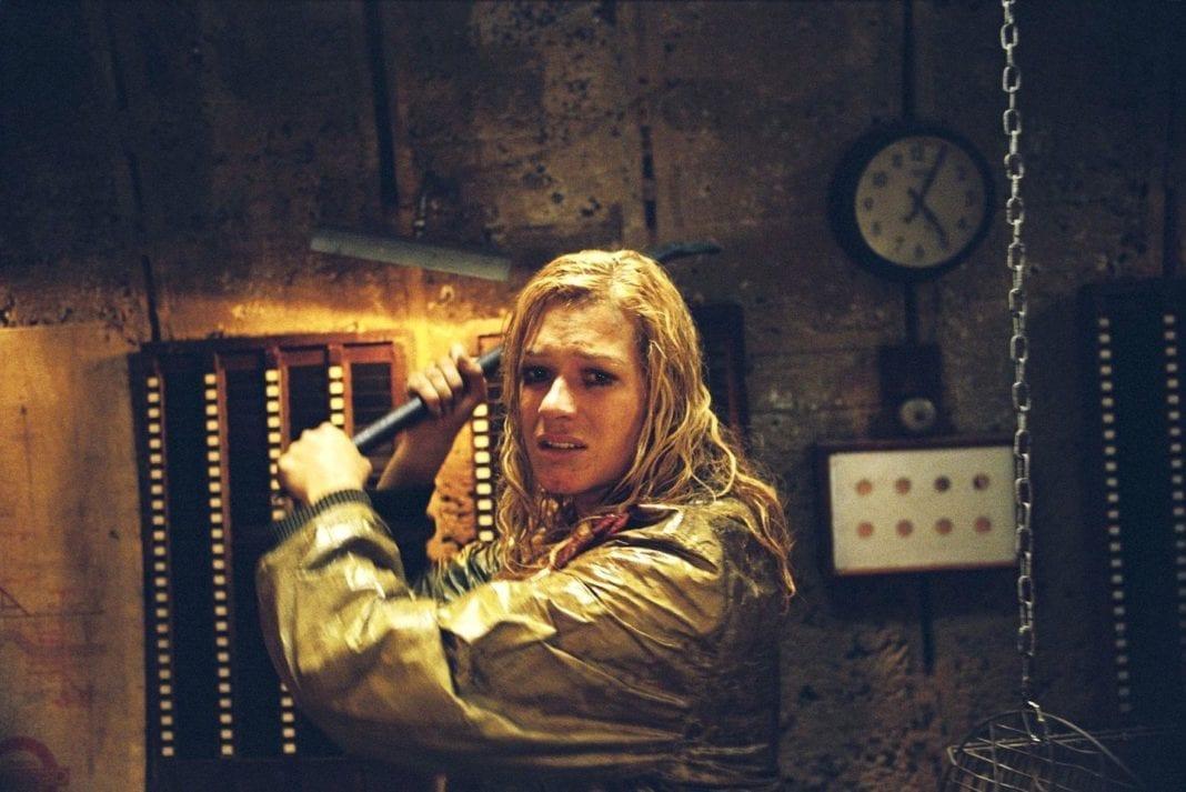 Franka Potente en Creep (2004), de Christopher Smith