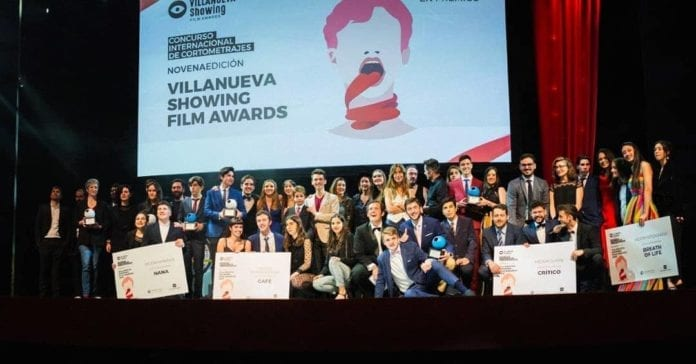 Villanueva Showing Film Awards