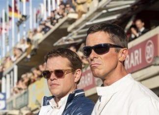 Matt Damon y Christian Bale en Le Mans´66