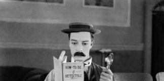 1924: American comedian Buster Keaton (1895-1966)