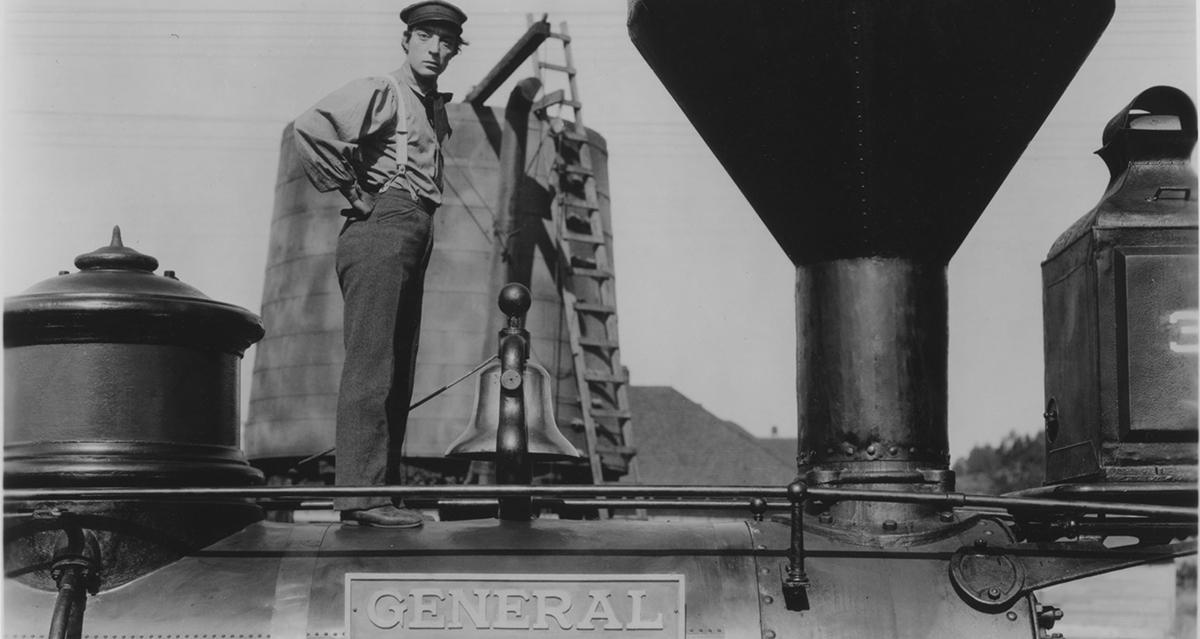 Buster Keaton en El maquinista de La General