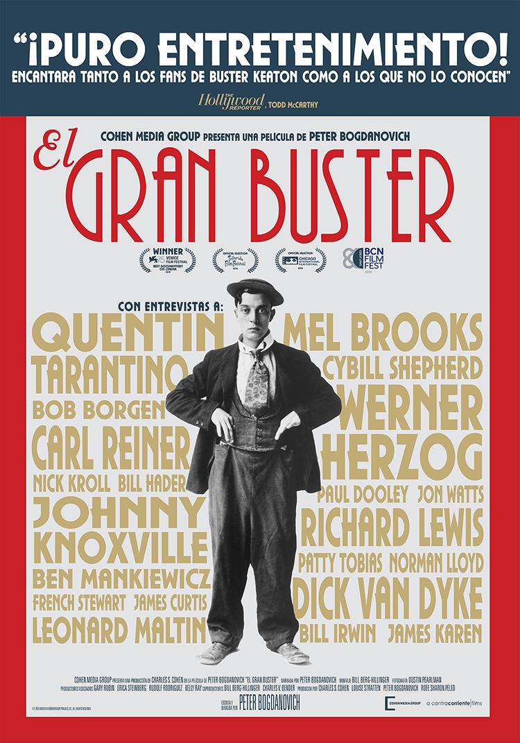 El gran Buster (2018), de Peter Bogdanovich