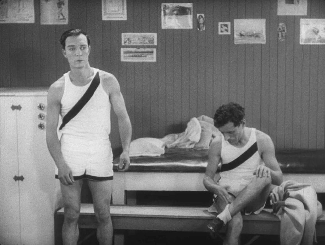 Buster Keaton en El colegial