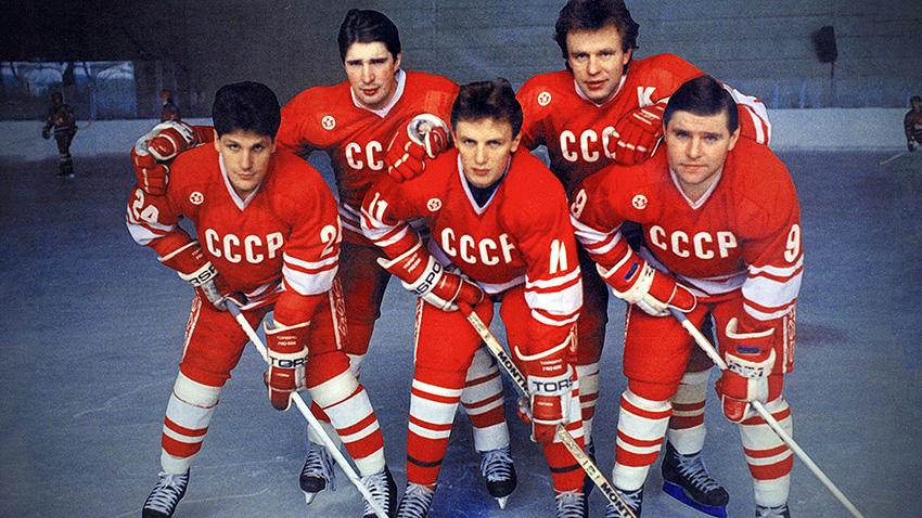 Red Army. La guerra fría sobre el hielo