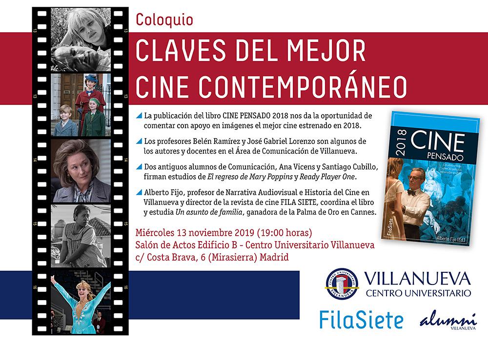 Claves del mejor cine contemporáneo en Centro Universitario Villanueva