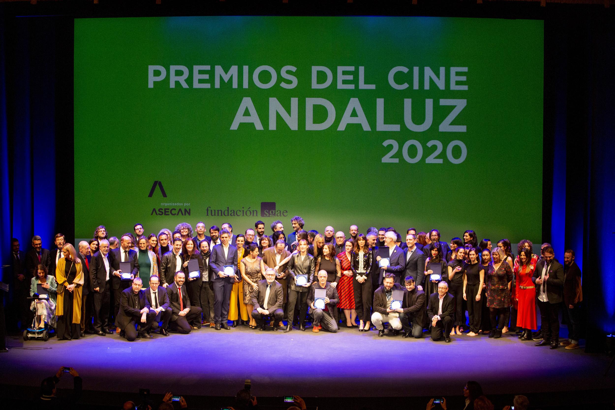 Premios ASECAN 2020: Foto de familia de todos los premiados