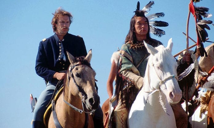 Bailando con lobos (Kevin Costner, 1990)