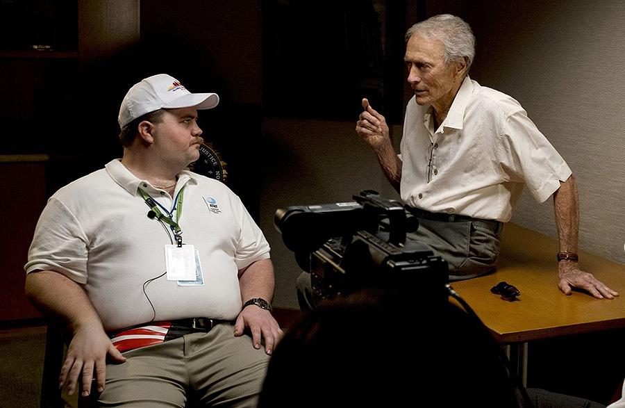 Clint Eastwood durante el rodaje de su última película, Richard Jewell