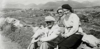 John Ford y Maureen O´Hara, en The west of Ireland